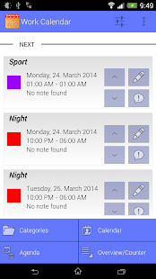 Work Calendar Business app for Android Preview 1
