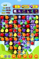 Screenshot of Cartoon Fruit Saga