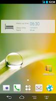 Screenshot of 睡眠ログウィジェット