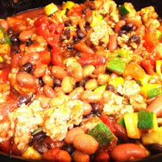 Jessa's Turkey & Bean Crockpot Chili