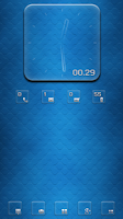 Screenshot of Transparent RS Clock UCCW skin