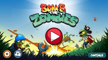 Screenshot of Bomb The Zombies