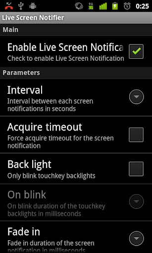 Live Screen Notifier