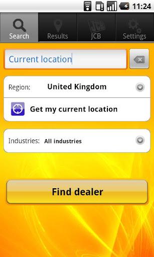 JCB - Find a Dealer
