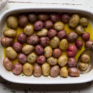 Roasted Saffron Potatoes Recipes