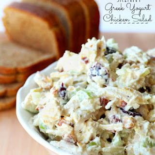 Skinny Greek Yogurt Chicken Salad