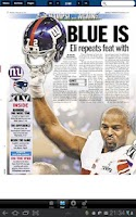 Screenshot of Daily News Giants Celebration