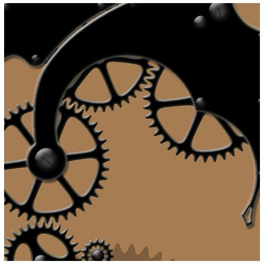 个人化の機械的なライブ壁紙 LOGO-記事Game
