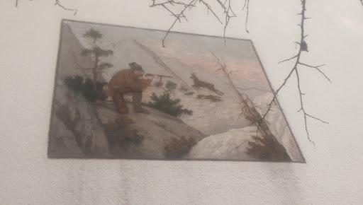 Hunter Wall Painting