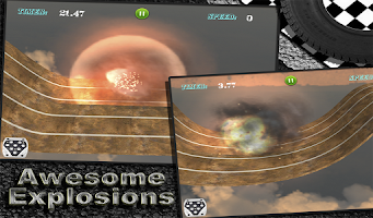 Screenshot of MONSTER TRUCK RACING