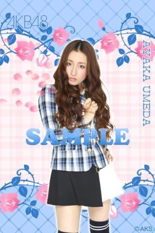 AKB48きせかえ 公式 梅田彩佳ライブ壁紙-PR-