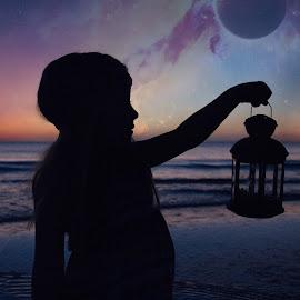 Just after Sunset In Sarasota FL by Landon McAllister - Digital Art People