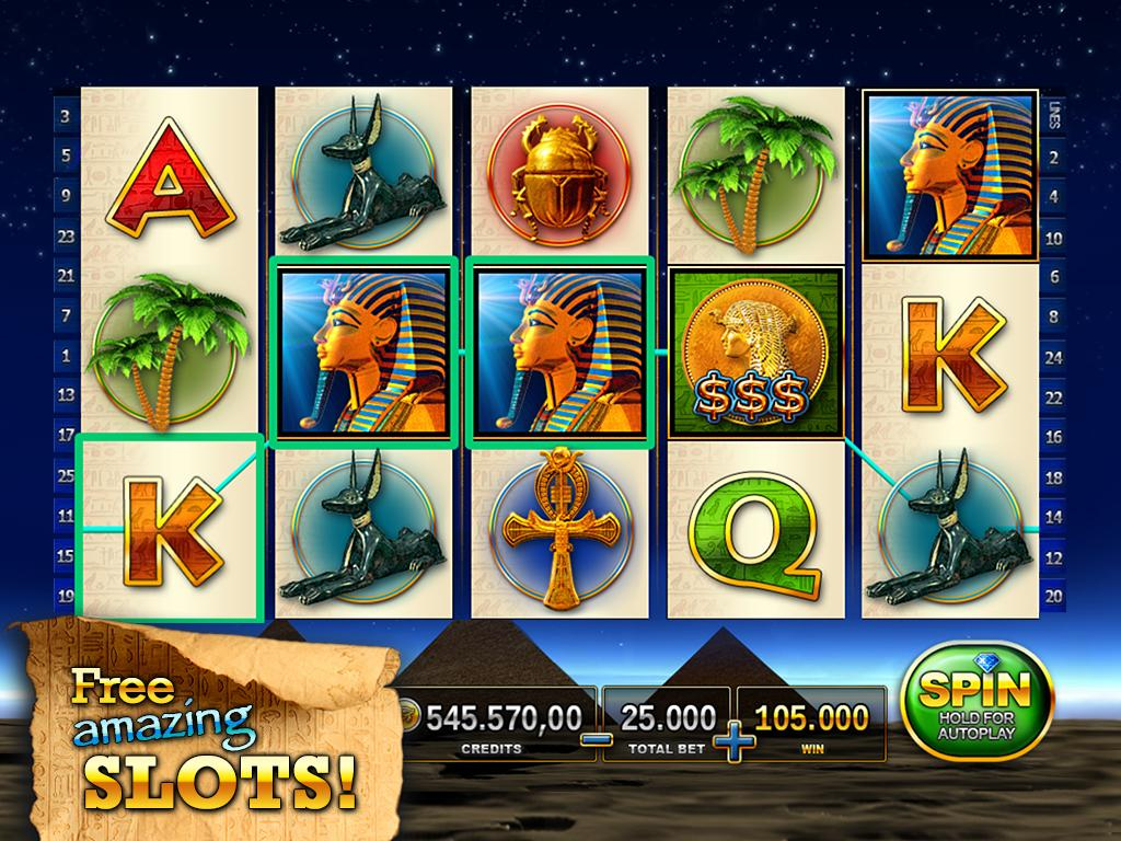 Slots - Pharaoh's Way Screenshot 6