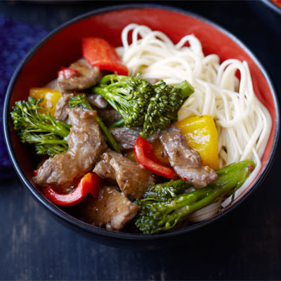 Chilli Beef With Broccoli & Oyster Sauce