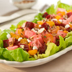 Super Fruity Beet & Pear Salad