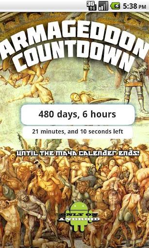 Armageddon Countdown