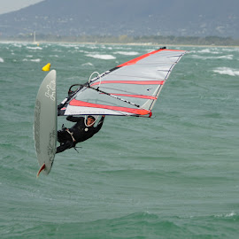 Hang Time by Jefferson Welsh - Sports & Fitness Watersports
