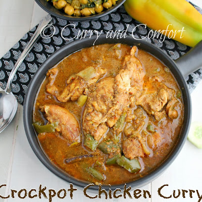 Crockpot Chicken Curry (Throwback Thursdays)