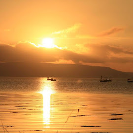 Sun Rise on a Donegal Coastline by Chris Mcgurgan - Novices Only Landscapes