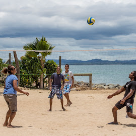 beach volleyball by Vibeke Friis - Sports & Fitness Other Sports ( sport, beach,  )