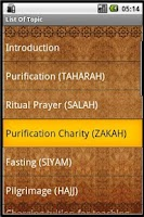 Screenshot of Hanafi Fiqh Guide