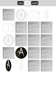 Screenshot of Gerd Arntz Game