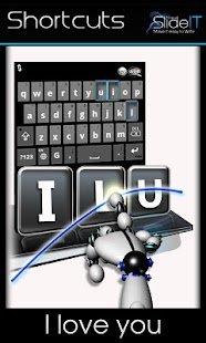 SlideIT Keyboard Screenshot