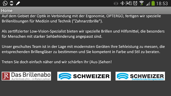 Optik Meinhardt - screenshot