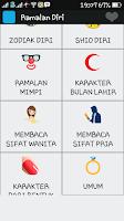 Screenshot of Ramalan Diri