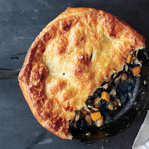 Whole Wheat-Crusted Chicken Pot Pie with Kale, Butternut Squash, and ...