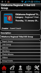 Tribal GIS - screenshot