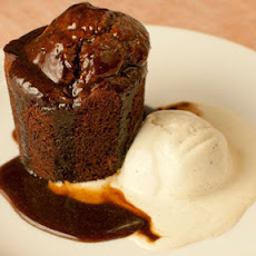 Sticky Toffee Pudding With Ginger And Dates And A Toffee Sauce