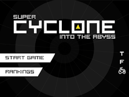 Screenshot of Hyper Hexagon: Super Abyss
