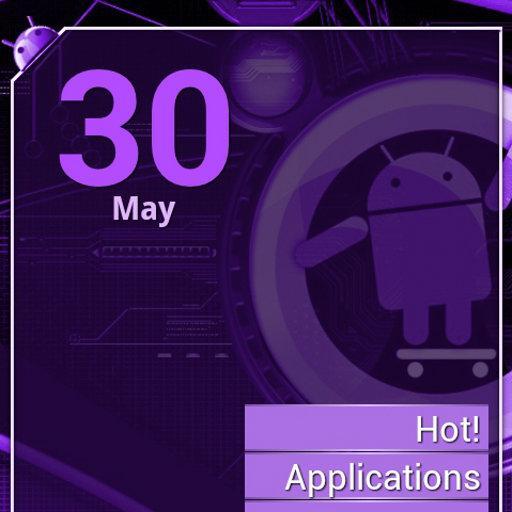 Cyanogen Purple ssLauncher