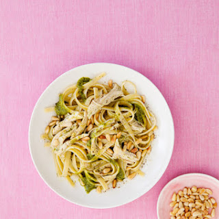 Chicken Pesto Fettuccine