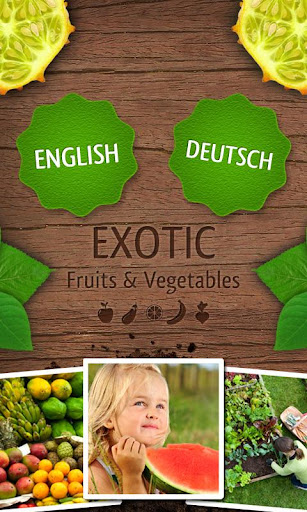 Exotic Fruits Vegetables PRO