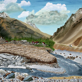 POWER OF NATURE by Ravi Kant Khanna - Painting All Painting
