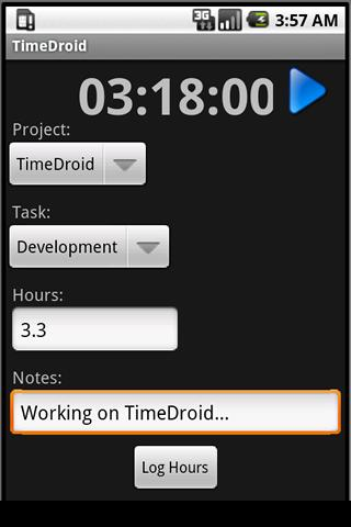 TimeDroid Pro for Freshbooks