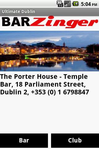 BarZinger Dublin