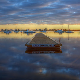 by Matty Gott - Landscapes Sunsets & Sunrises ( crawley, perth, matilda bay, swan river )