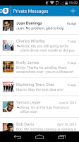 Screenshot of Socialcast
