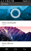 Screenshot of Holo White CM11 Theme