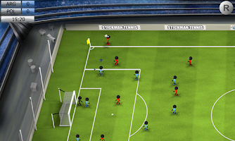 Screenshot of Stickman Soccer 2014