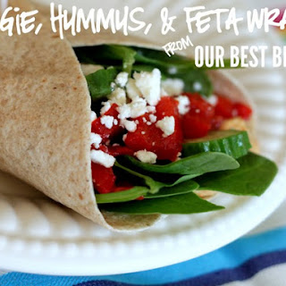 Roasted Vegetables And Feta Wrap Recipes