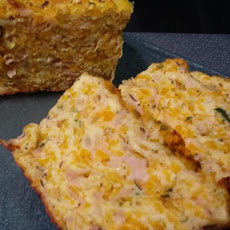 Zucchini, Ham and Pumpkin Slice