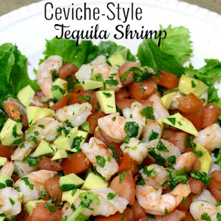 Ceviche-Style Tequila Shrimp