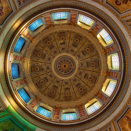 The Esztergom Basilica Dome by Peter Kennett - Buildings & Architecture Places of Worship ( hungary, church, esztergom, dome, basilica )