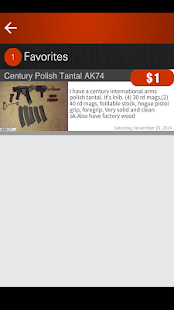 Gun Search Client for Armslist- screenshot thumbnail