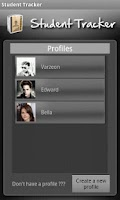 Screenshot of Student Tracker