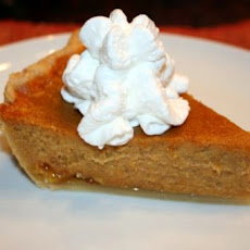 Pumpkin-Sour Cream Custard Pie